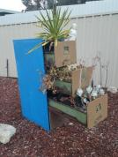 Kooky way to repurpose an old filing cabinet :)