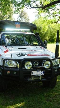 "Dobinson 40"" LED light bar = awesome!"
