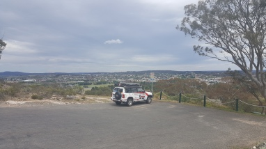 view from Rocky Hill War Memorial, Goulburn