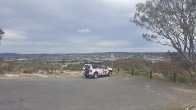 view from Rocky Hill War Memorial, Goulburn