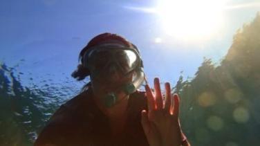 Snorkel selfie!