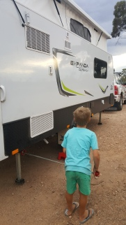 Levelling the Jayco is child's play