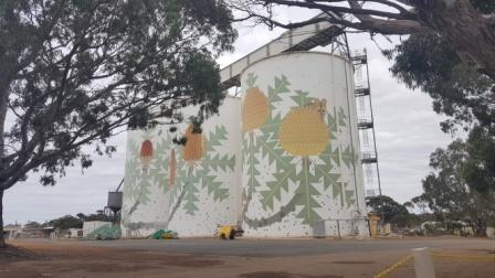 Stunning Ravensthorpe silos, from one side!
