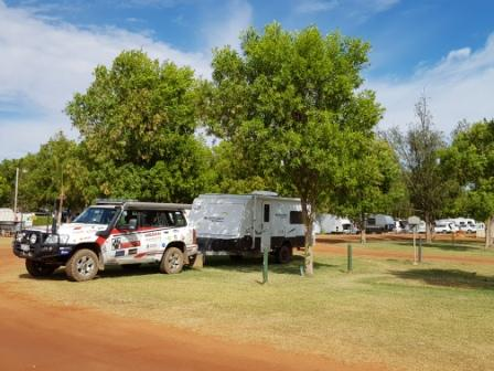 Jayco at Eighty Mile Beach caravan park - May 2018