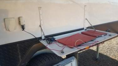 How to charge tablets even when free camping