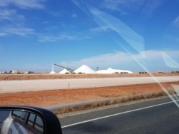 salt production at Port Hedland