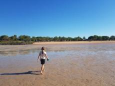 exploring the tidal flats