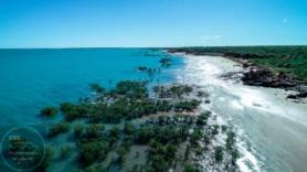 gorgeous coastline, Yawaru Conservation Park, Roebuck Bay - taken with the DJI Phantom 4 Professional