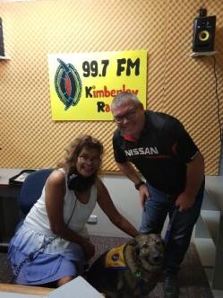 Sandy at Radio Goolarri