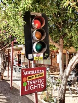 Most remote traffic lights!